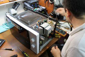 фото ремонт микроволновых печей
