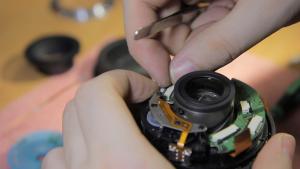 фото ремонт объективов