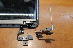 фото ремонт петель ноутбука