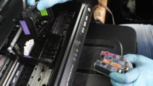 фото ремонт струйных принтеров