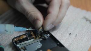 фото ремонт айфон 5 в киеве