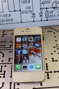 фото ремонт iphone 4